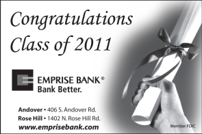 2011 Emprise Bank Graduation Ad