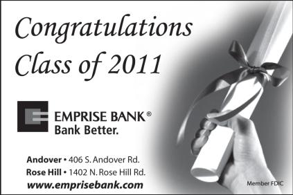2011 Emprise Bank Graduation Ad