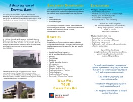 2011 HR Employment Brochure - Inside
