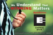 2012 Emprise Bank Winning Matter Ad