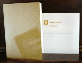 2012 Emprise Bank Greeting Card