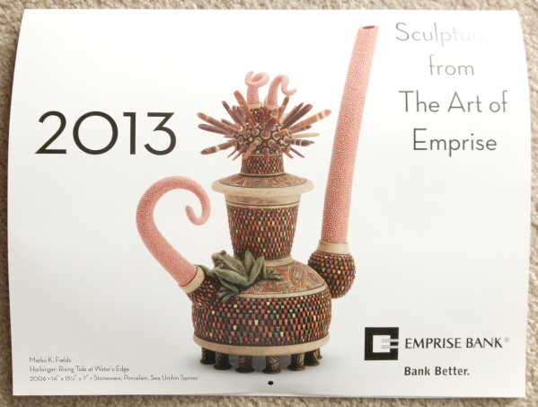 2013 Art of Emprise Calendar - Cover