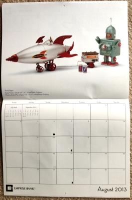 2013 Art of Emprise Calendar