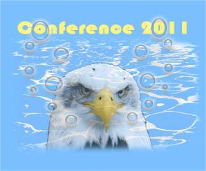 2012 US Air Force Academy Woman's Swim and Dive Conference Shirt - Back