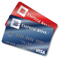 2013 Emprise Bank Credit Card