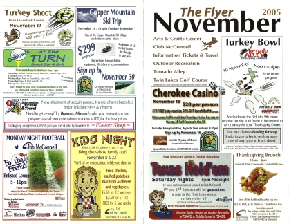 2005 McConnell AFB 'Flyer' Newsletter - Outside