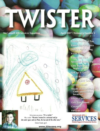 2007 - McConnell AFB Twister Magazine Cover