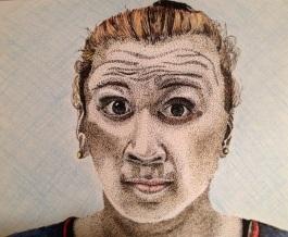 Rosalita Mon Ami - 2012 Sharpie and Colored Pencil
