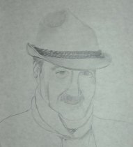 Papa - 2005 Pencil Drawing