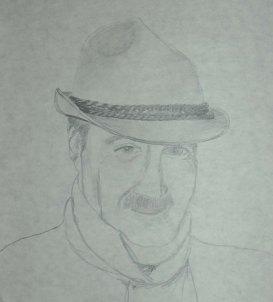Papa - 2005 Pencil Drawing