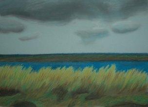 Wells-next-the-sea, England - 2004 Oil Pastel