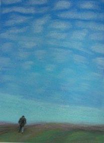 Alone - 2005 Oil Pastel