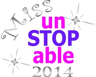 Miss un-STOP-able 2014 pageant logo
