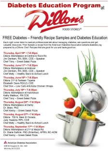 2015 Diabetes Education Program with Dillons