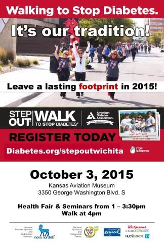 2015 Step Out Walk Poster