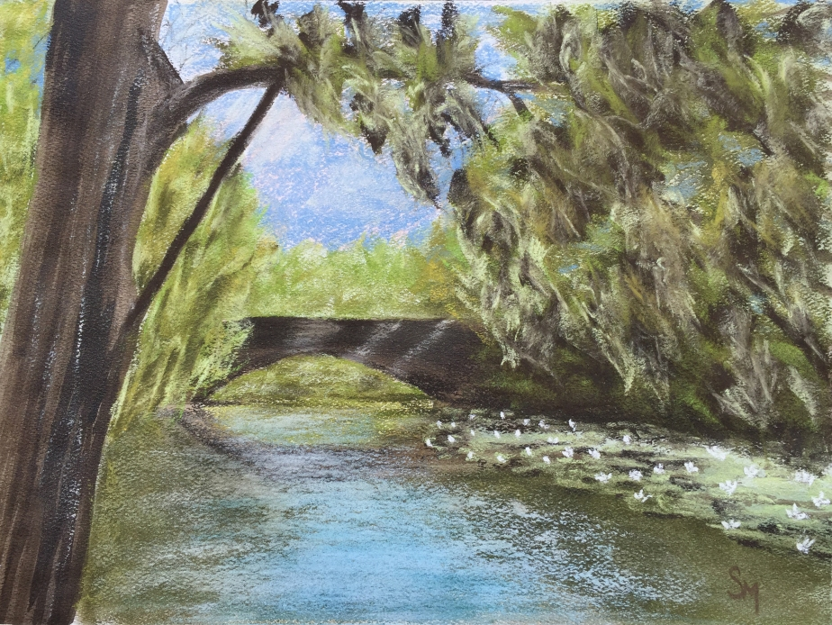 9 x 12 pastel on Strathmore pastel paper