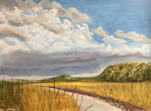 Big Kansas Sky - 9 x 12, October 2016