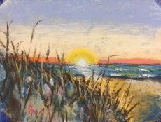 Sunrise, Murrell's Inlet SC 2, 4x5, January 2017