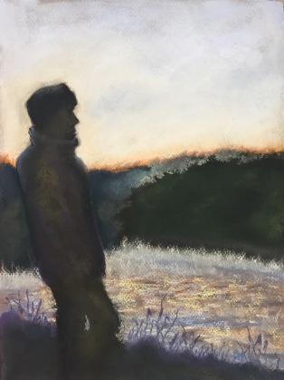 Still, 9 x 12, pastel painting, September 2017