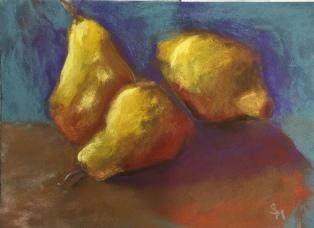 'Pears' 7x5 November 2017