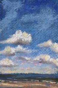 'Cloud Study' 5x7 December 2017
