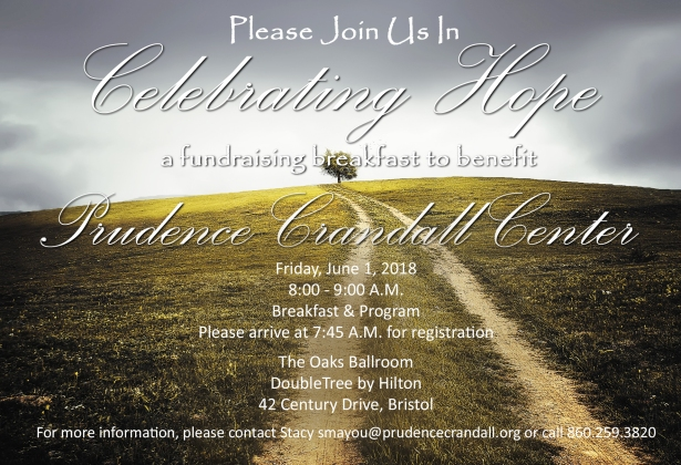 2018 Celebrating Hope Invitation option - Save-the-Date