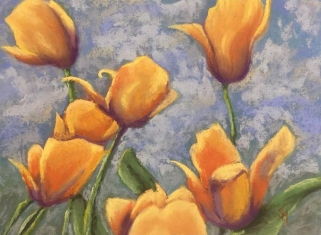 Tip-Toeing Tulips