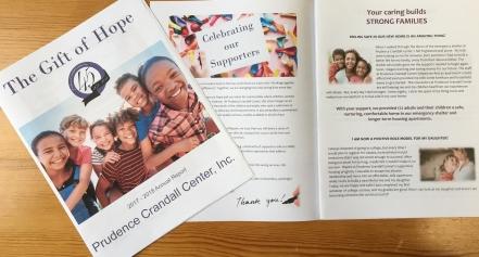 2018 Prudence Crandall Center Annual Report