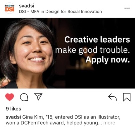 2018 DSI@SVA Recruitment Campaign
