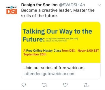 2018 DSI@SVA Master Class Campaign