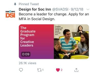 2018 DSI@SVA Brochure