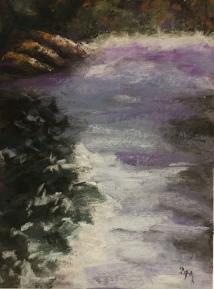 'Morning Mist' 9x12 September 2018