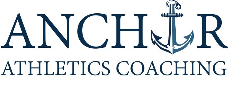 Anchor Athletics Coaching Stacked logo